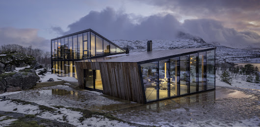 | Efjord Retreat by Stinessen Arkitektur