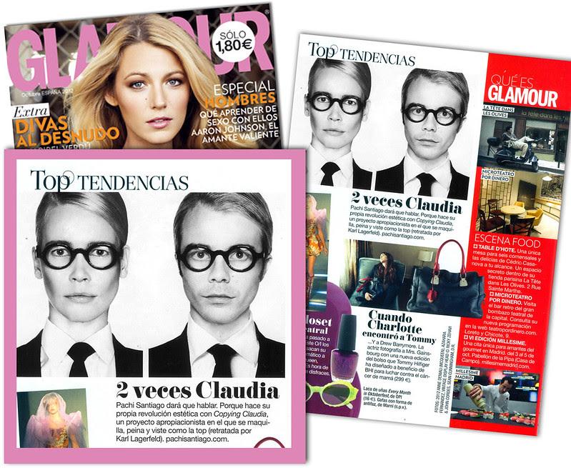 revista glamour pachi santiago