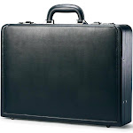 Samsonite Bonded Leather Attache by Luggage Pros