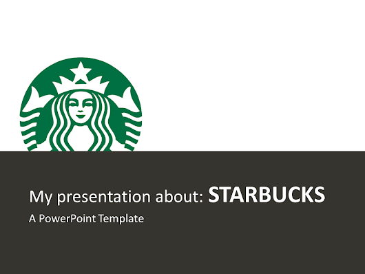 Starbucks PowerPoint Template - PresentationGO.com