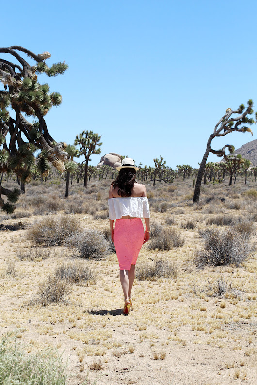 Palm Springs Travel Diary - Joshua Tree - Accessories Gal Blog by E.Kammeyer