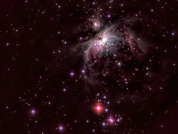Astrophoto: The Great Orion Nebula by Arturo Montesinos