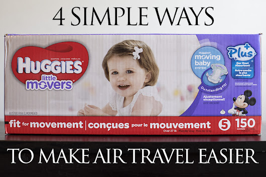 4 simple ways to make air traveling with a baby easier – Behind The Studio