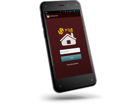 Money management app on your android smartphone