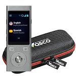 Vasco Mini 2 Translator Device | Multi-language Portable Voice Translator - Supports 50 Languages | Enables Instant Two-Way Conversation | No WiFi