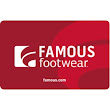 $50 Famous Footwear Gift Card for $40
