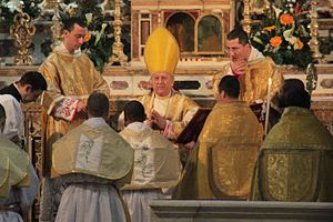 Priestly Ordinations for the Franciscan Friars...