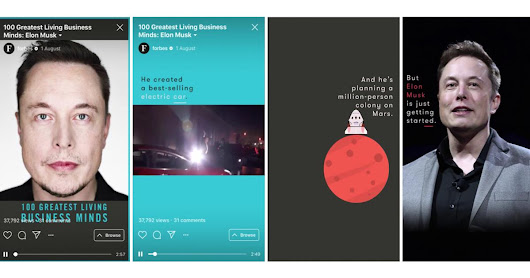 How publishers are using Instagram's IGTV