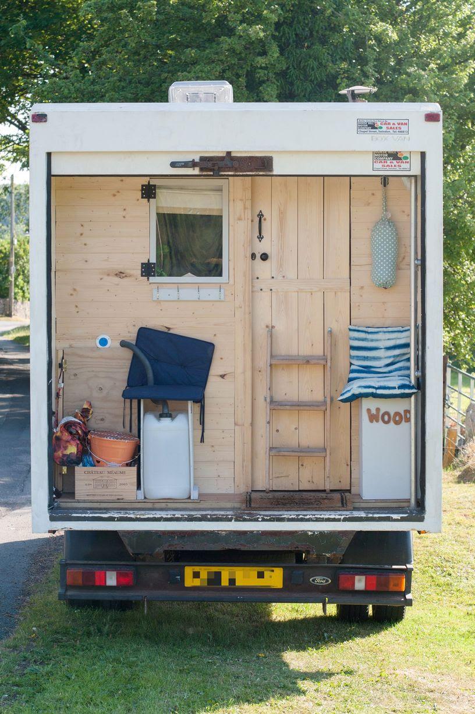Mengubah truk jadi apartemen impian komplit pake dapur, toilet dan tempat tidur !