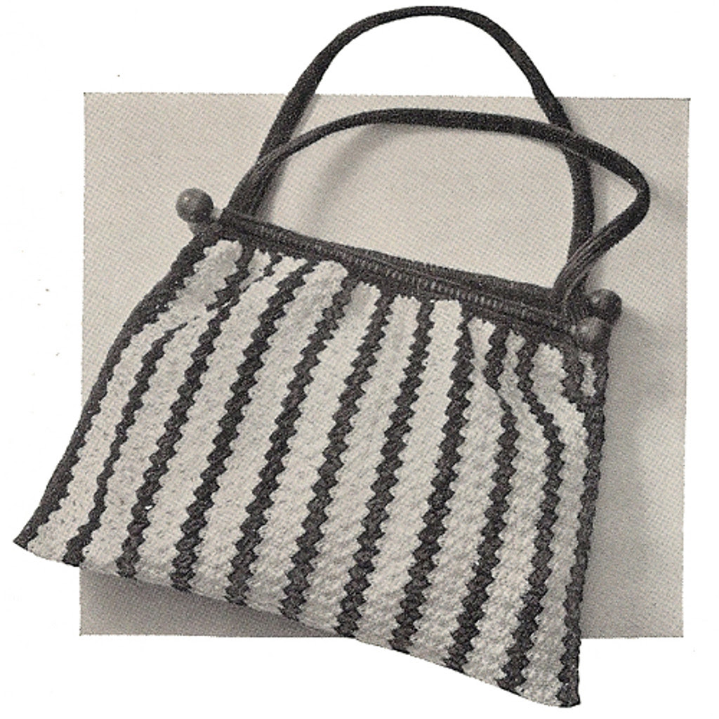 Crocheted Knitting Bag Pattern