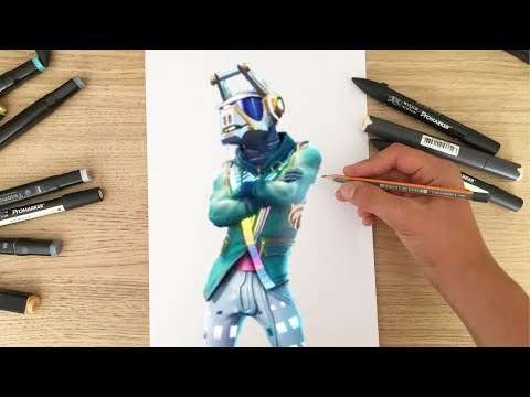 Dessin Fortnite Dj Lama Fortnite Aimbot Golden Modz