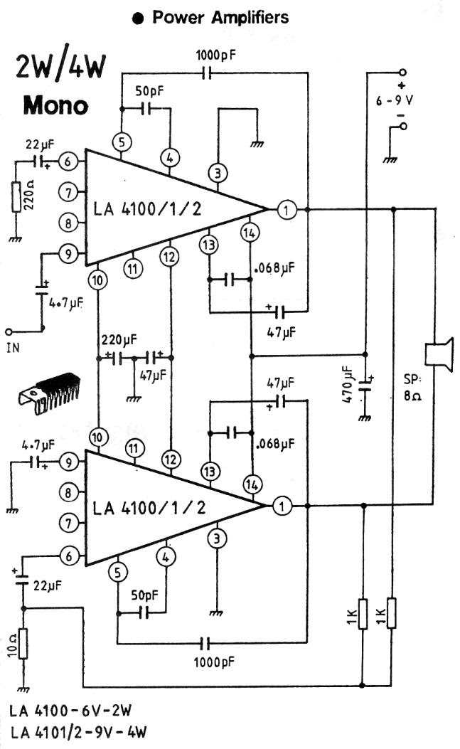 150w mixer power schematic