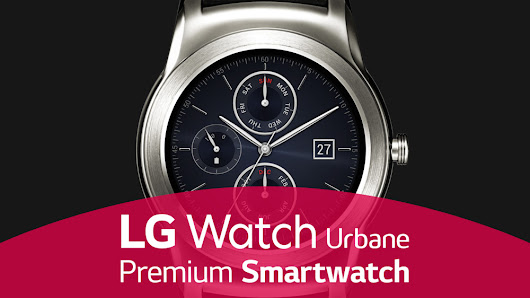 LG Watch Urban — Premium Smartwatch by Yuri Zelenkovski