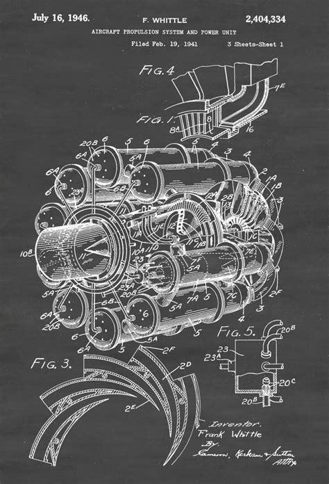 Frank Whittle's Jet Engine Design - Circa 1941