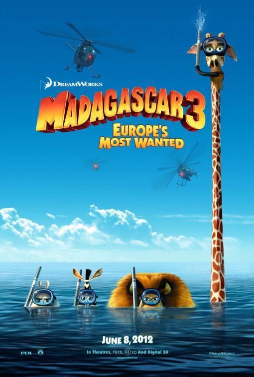 Madagascar 3 en cine