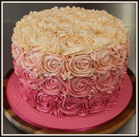 Female Birthday Cakes Weegee Deans cakepins.com   dresses