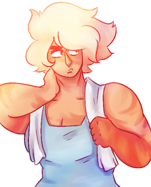 idk if this is sexy but i need practice drawing muscles anyways