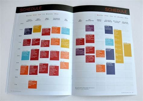 39 best images about Design // Conference & Schedule on