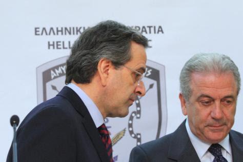 Σαμαράς και Αβραμόπουλος στο `στόχαστρο` των Τούρκων.