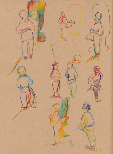 November 2012: My Life Drawing Classes