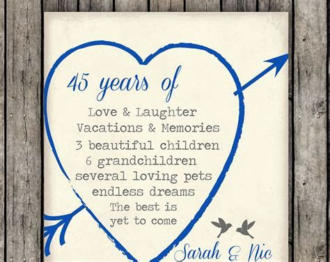 25  best Anniversary gifts for parents ideas on Pinterest
