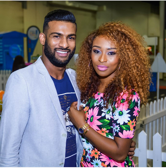"""I am Blessed To Call You My Man"" – DJ Zinhle Shows Off Her Bae Brendon Naidoo"