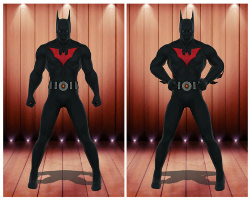 MMD Batman Beyond