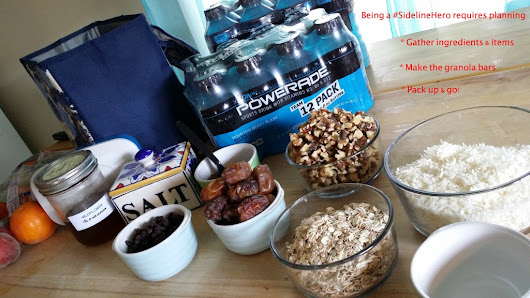POWERADE® Gametime Granola Bars Are My #SidelineHeroDoña Lupe's Kitchen