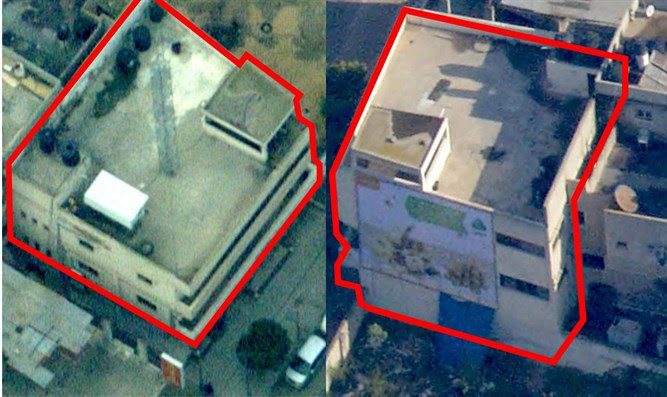 Hamas headquarters attacked by the Israeli Air Force