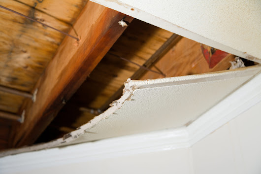 Water Damage Caused By Air Conditioner -