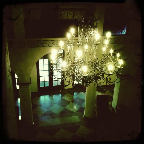 Hotel Seville Lobby at Night