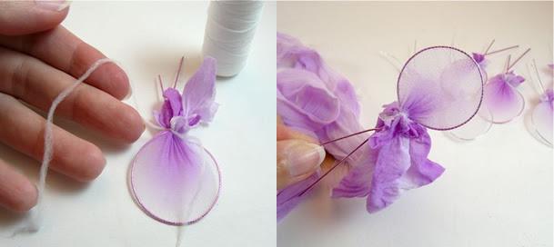 flores-de-meia-de-seda-petalasCom o artesanato meia de seda você pode criar os diversos artigos decorativos, como as flores com meia de seda.