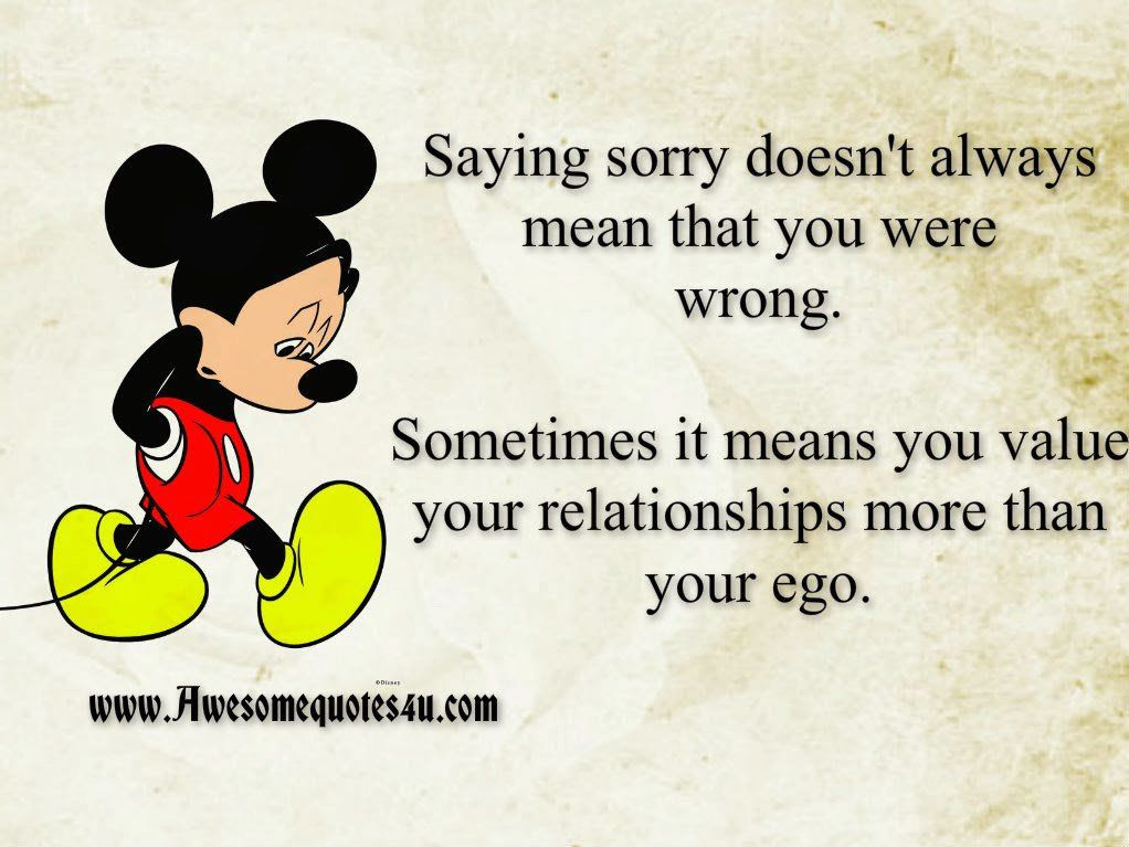Saying Sorry Doesnt Always Mean You Are Wrong Pictures Photos And
