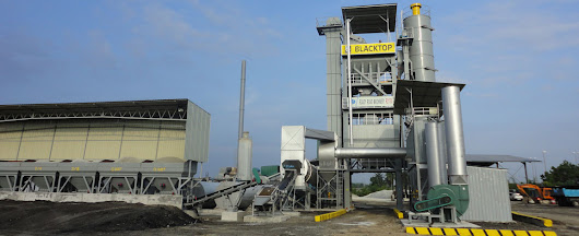 RD175X asphalt mixing plant in Malaysia