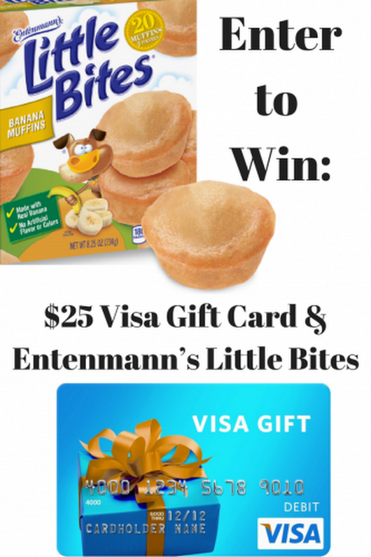 Getting Your Banana Fix From Entenmann's® Little Bites® #LoveLittleBites #LittleBitesBanana (& $25 Visa Gift Card Giveaway Ends 6/4) - Mom and More
