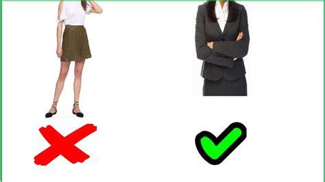 dress   interview women youtube