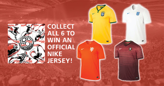 Have you tried your luck at this football jersey giveaway yet?