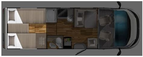 schlafen im wohnmobil neun grundrisse zur auswahl