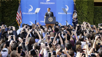 With Obama in Glendale, Armenians press genocide-related issue