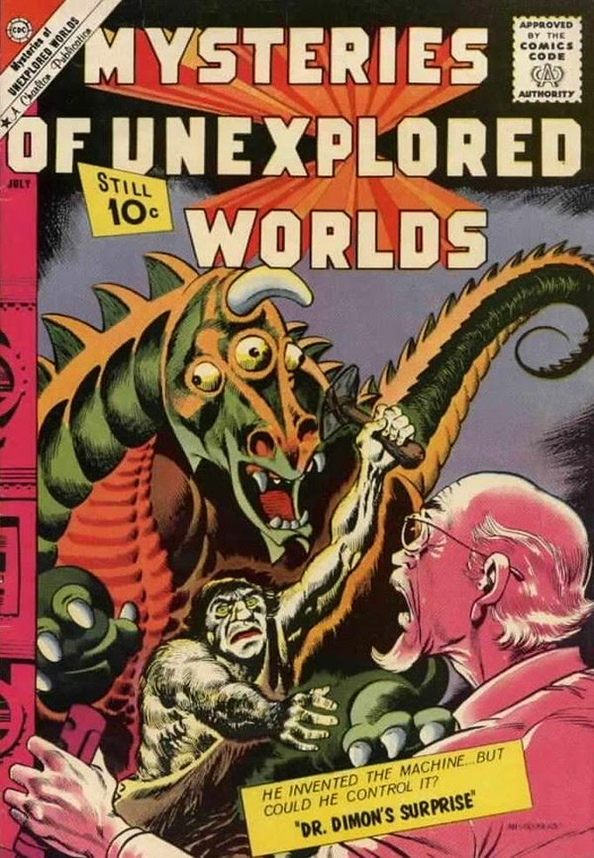 Mysteries of Unexplored Worlds #25