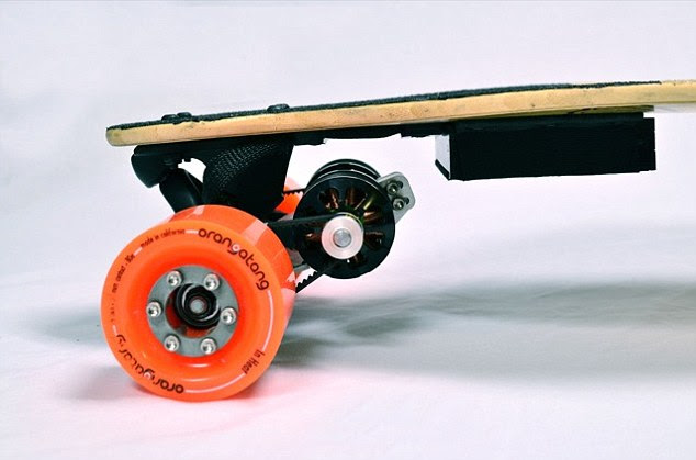 Boosted Board: The skateboard that could change the way we travel according to its inventors