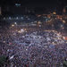 Crowds at Tahrir Square in