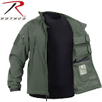 Rothco Concealed Carry Soft Shell Jacket Olive Drab