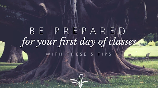 5 Tips to Prepare for the First Day of Classes | MSC UVA