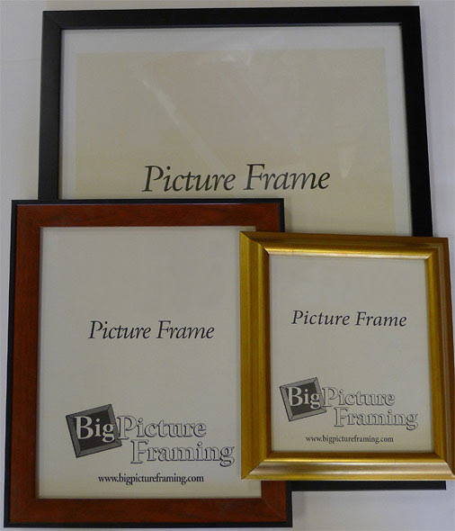 Quadro Frames Silver 10x36 Inch Picture Frame Box Of 4