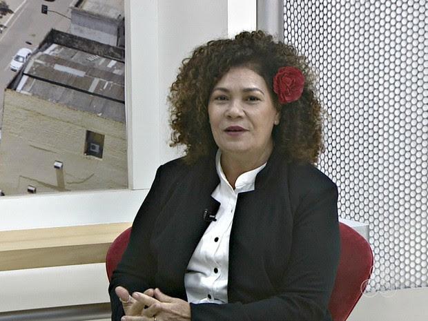 Perpétua assumiu secretaria de Secretaria de Produtos de Defesa  (Foto: Reprodução/Rede Amazônica Acre)
