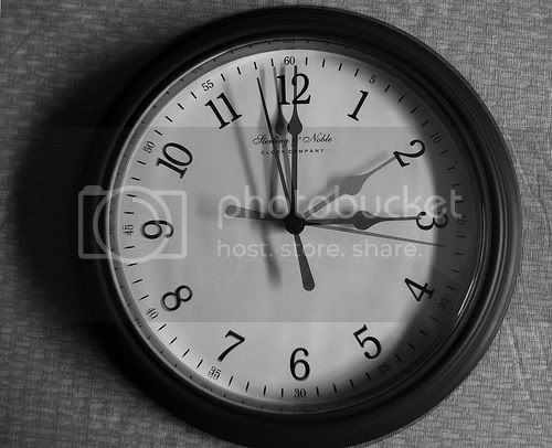 Time changing clock