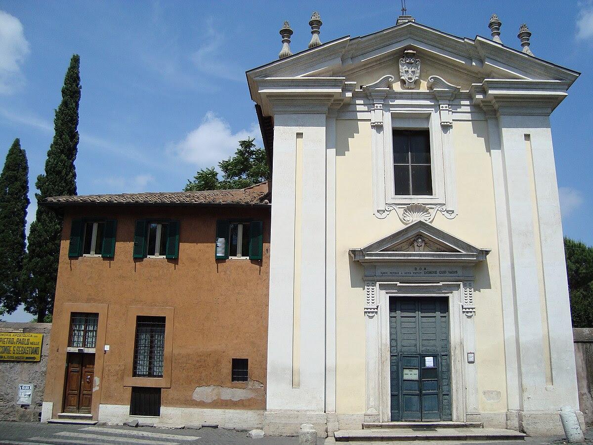 Fil: Eglise de Domine Quo Vadis Rome.JPG