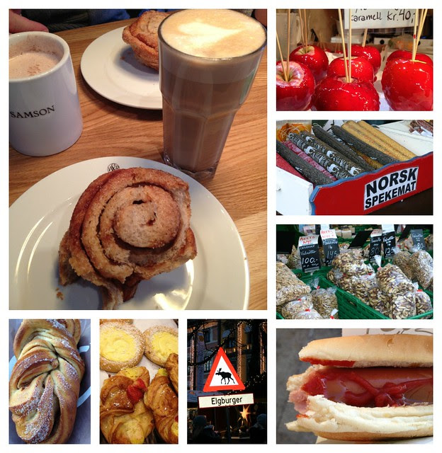 Oslo food collage
