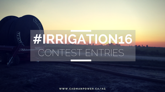 #Irrigation16 July Contest Entries - Cadman Agriculture